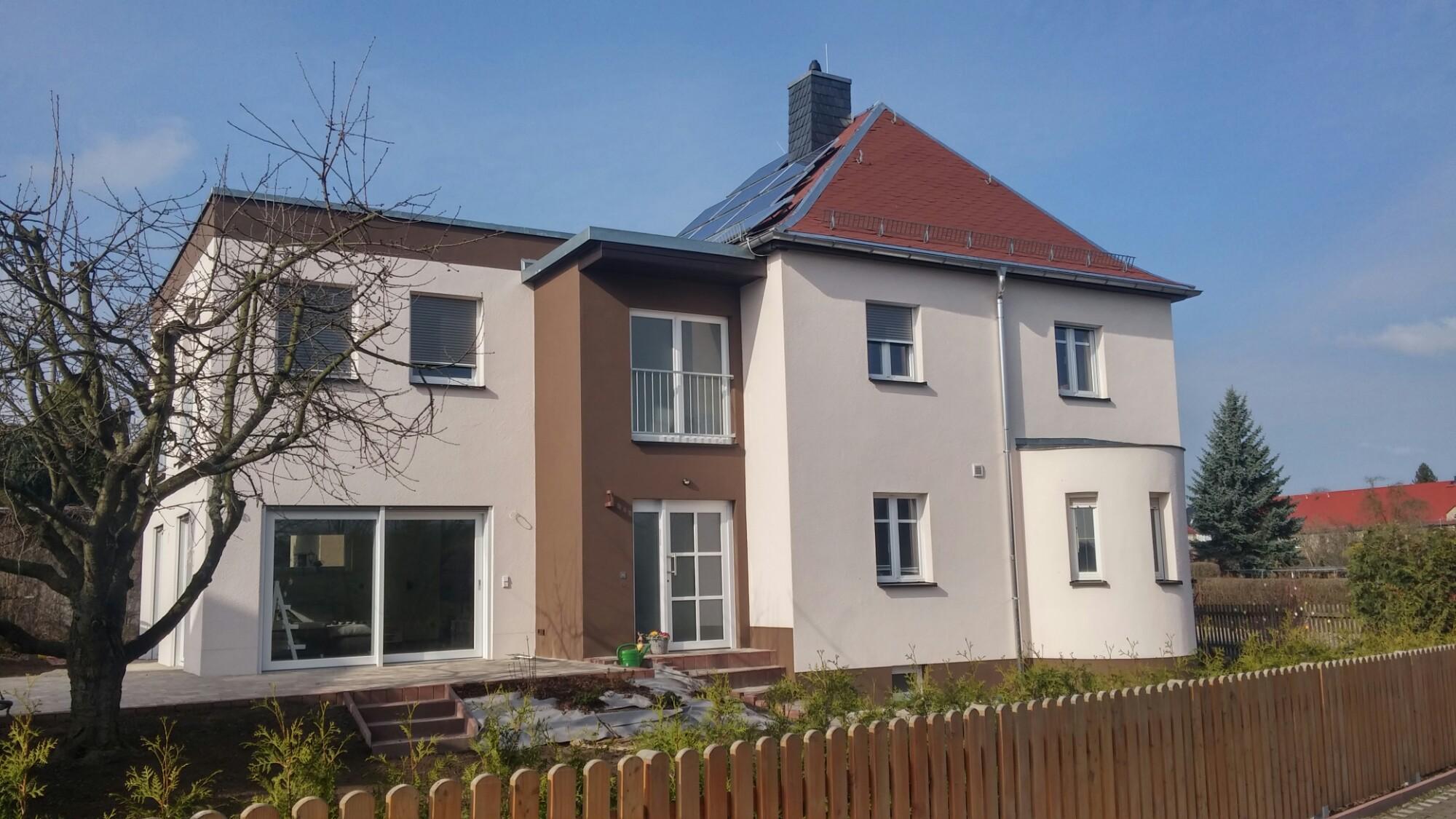 Häufig Anbau und Sanierung fertig gestellt Familie Dennhardt in Rochlitz IW58